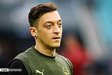 Arsenal players training before 2019 UEFA Europa League final 18.jpg