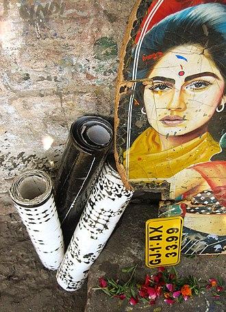 Rickshaw art - Image: Art & Faith
