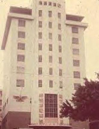 """Rafael Carrión Sr. - Art Deco """"BPPR"""" Headquarters Building"""