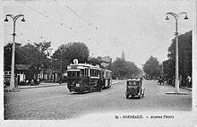 Ancien tramway de bordeaux wikip dia - Cabinet radiologie avenue thiers bordeaux ...