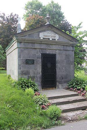 Arthur Boyer - Tomb of Arthur Boyer in Notre Dame des Neiges Cemetery