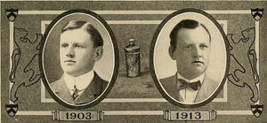Arthur P. Robinson - Robinson in 1903 and 1913