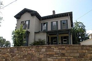 Ben Avon, Pennsylvania - The Arthurs-Johnson House, a historic site in the borough