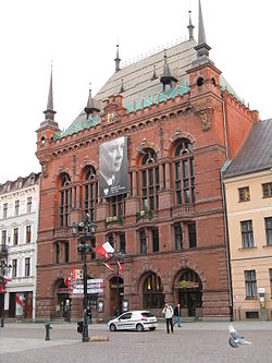 Artus Court in Toruń after president's plane crash 2010