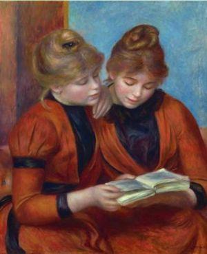 As duas irmãs ou em francês Les deux sœrs é um óleo sobre tela da autoria  de Pierre-Auguste Renoir afe1c9a7ce