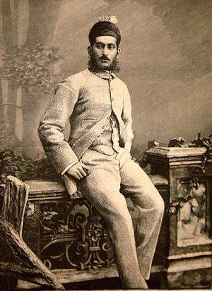 Mahbub Ali Khan, Asaf Jah VI - Image: Asaf Jah VI