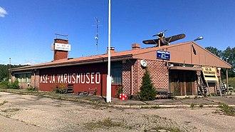 Kuhmoinen - Image: Asejavarusmuseo