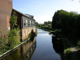 Ashton Canal - The Ashton Canal at Droylsden