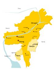 Assam in 1950s