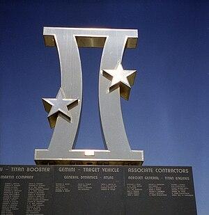 American Space Museum - Gemini Monument