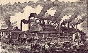 History of Atlanta - Atlanta (Confederate) Rolling Mill, 1858-1864