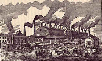 History of Atlanta - Atlanta (Confederate) Rolling Mill, 1858-1864