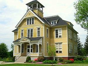 Founder's Hall (Lancaster, Massachusetts) - Image: Atlantic Union College Founder's Hall