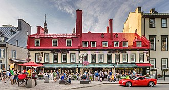Company of New France building in present day Quebec City Auberge Du Tresor.jpg