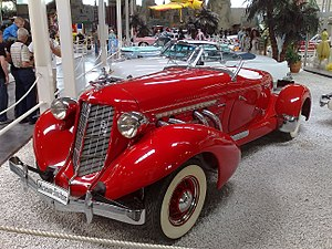 Auburn Speedster - Auburn Boattail Speedster 851