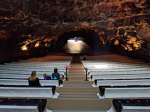Auditorium in Jameos del Agua