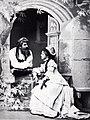 August Knapp und Ottilie Ottiker in Die Meistersinger von Nürnberg Mannheim um 1875.jpg