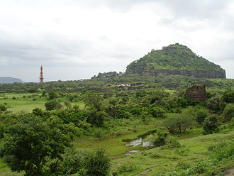 Daulatabad, Maharashtra - Devagiri-Daulatabad Fort -- Devagiri (Deogiri).