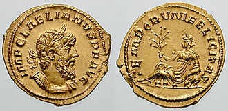 Laelianus - Image: Aureus Laelius RIC 0001