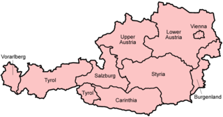 States of Austria First-level administrative divisions of Austria