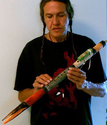 English: Authentic Native American FLute by Ja...
