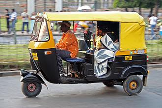 Auto rickshaw - India