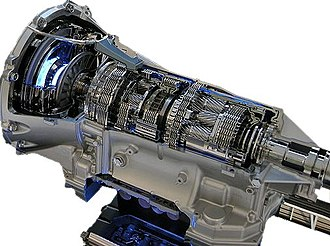 Automatic transmission - An 8-gear automatic transmission