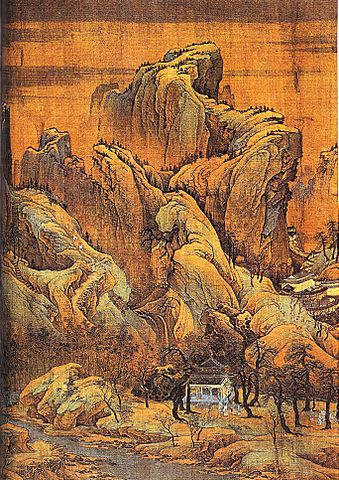 File autumn colors on rivers and mountains northern song for Dynasty mural works