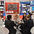 Aviation Team during stand meetings with Airlines 1 (10166685834).jpg