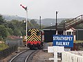 Aviemore Speyside - D3605 shunting a coach.JPG