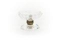 Avlång åttsidig skål av bergkristall med likaformad fot - Skoklosters slott - 92036.tif