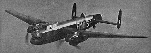 Avro Manchester - Avro Manchester Mk IA