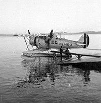 Az Olasz Haditengerészet Romeo Ro-43 típusú felderítő hidroplánja. Fortepan 26474.jpg