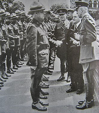 British Columbia Provincial Police - Inspection of the BCPP during the 1939 royal visit