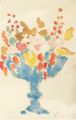 BLUMEN IN BLAUER VASE (FLOWERS IN A BLUE VASE).PNG