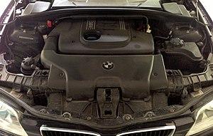 BMW M47 - BMW M47 built into a BMW E87