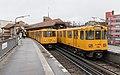 """BVG-Züge im U-Bahnhof """"Schlesisches Tor"""", Berlin.jpg"""