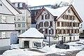 Bachstrasse 6 in Herisau, Waschhaus und Brunnen.jpg