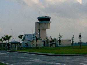 Bacolod–Silay Airport - The airport's control tower