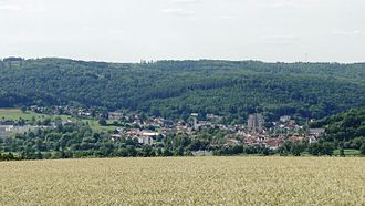 Bad Soden-Salmünster - The Stadtteil Bad Soden from the southeast