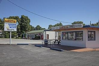 Bainbridge, Indiana - Ice cream stand in Bainbridge
