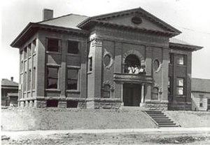 Ballard Carnegie Library - Ballard Carnegie Library, circa 1911.