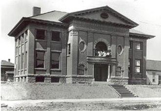 Ballard Carnegie Library - Ballard Carnegie Library, circa 1911