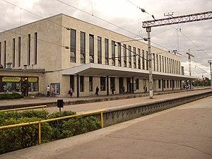Balti jaam - Image: Baltia station