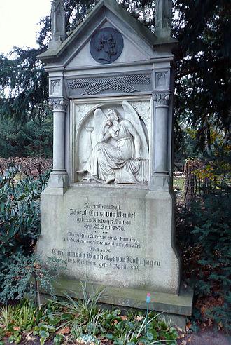 Ernst von Bandel - Tomb of Ernst von Bandel