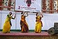 Bangladesh Udichi Shilpigoshthi - Chittagong University Sangsad celebrating Pohela Falgun 1423 at CU Muktomoncho (01).jpg