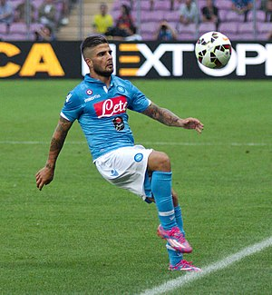 Lorenzo Insigne - Insigne playing for Napoli in 2014