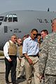 Barack Obama with Chuck Hagel in Jalalabad-2008.jpg
