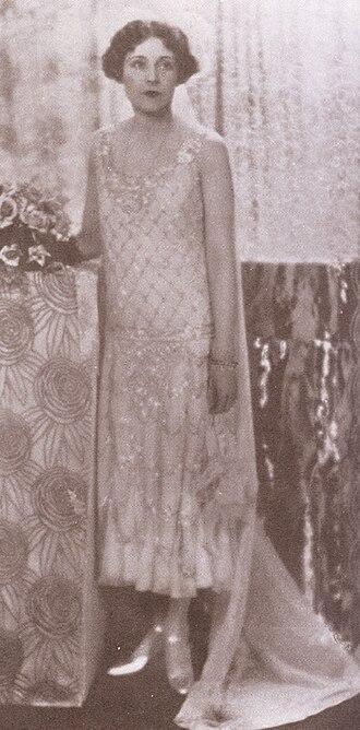 Barbara Cartland - Barbara Cartland in 1925