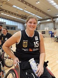 Barbara Gross wheelchair basketball player